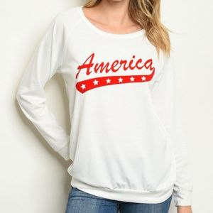 🇺🇸AMERICA LONG SLEEVED TOP